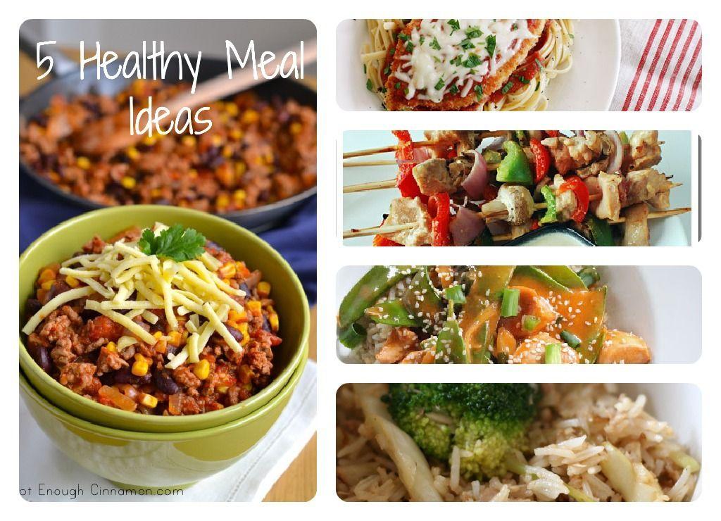 5 healthy meal ideas part 1 healthy delicious pinterest 5 healthy meal ideas part 1 forumfinder Images