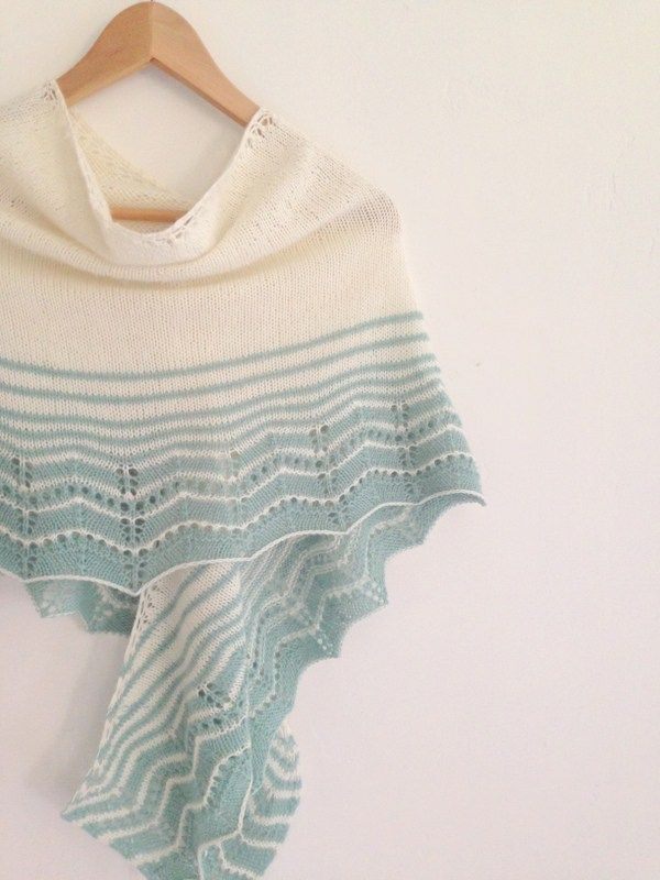 Free Pattern #11: The Marcelle Wrap | Knit | Pinterest | Tücher ...
