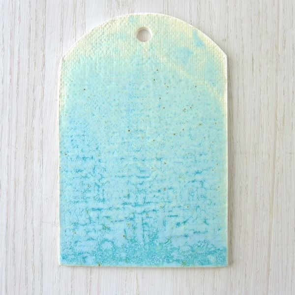 Turquoise Cheese Tray