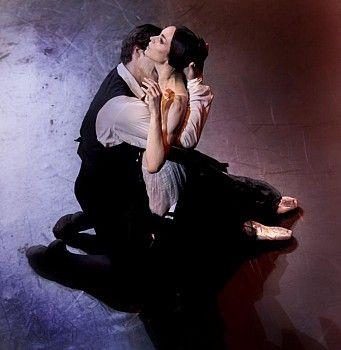 La Dame aux Camélias Diana Vishneva as Marguerite Gautier and Alexandr Riabko as Armand Duval (choreography by John Neumeier)