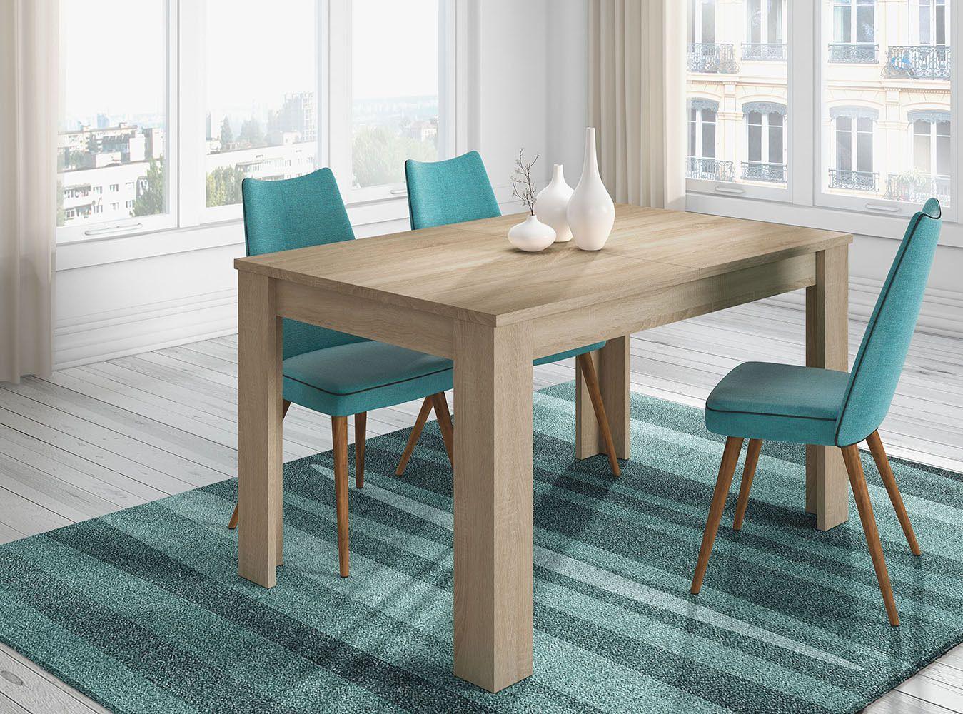 Mesa de comedor extensible, mesa cocina mueble salon mesa grande ...