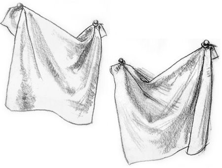 Fabric Drawing Art Lesson