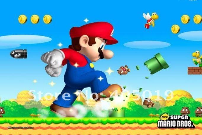 Seinätarra Super Mario Bros