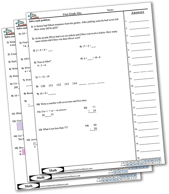Tons Of Math Problems Generated By Grade Level And Common Core Strand Woo Hoo Common Core Worksheets Common Core Math Worksheets Teaching Common Core