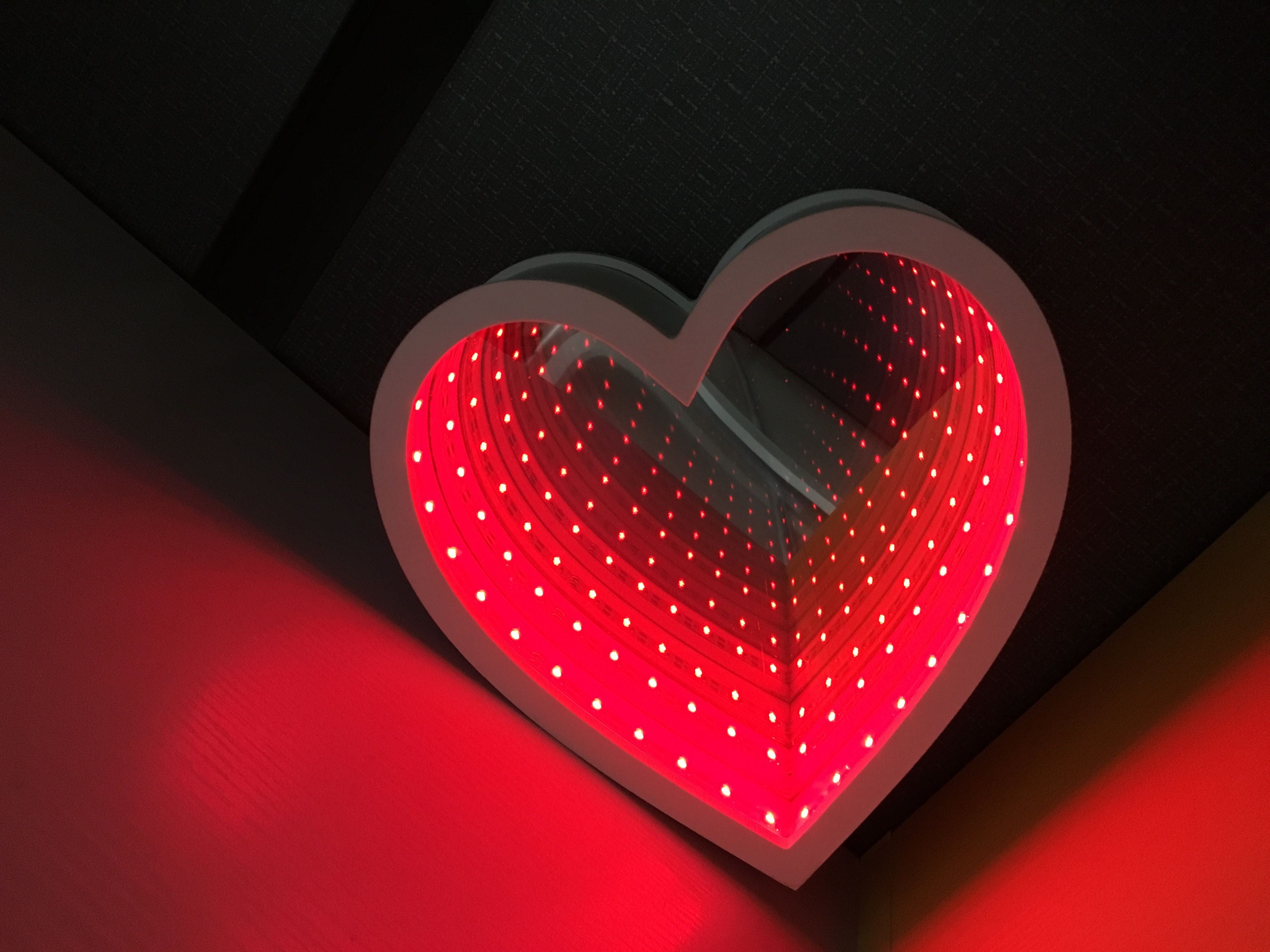 infinity mirror lights contact me to learn more details az led pinterest. Black Bedroom Furniture Sets. Home Design Ideas