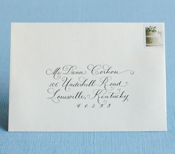Addressed Wedding Invitations: Learn How To Address Wedding Invitations Like A Pro With