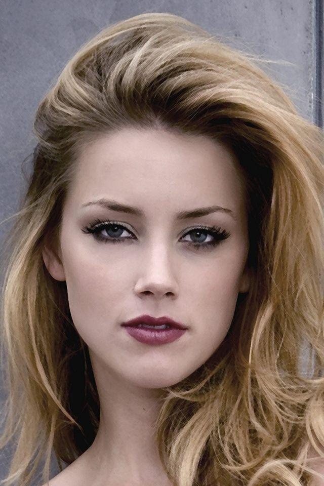 Download Wallpaper 640x960 Amber Heard Blue Eyes Face Makeup Iphone 4s 4 Hd Background Amber Heard Height Amber Heard Hot Amber Heard