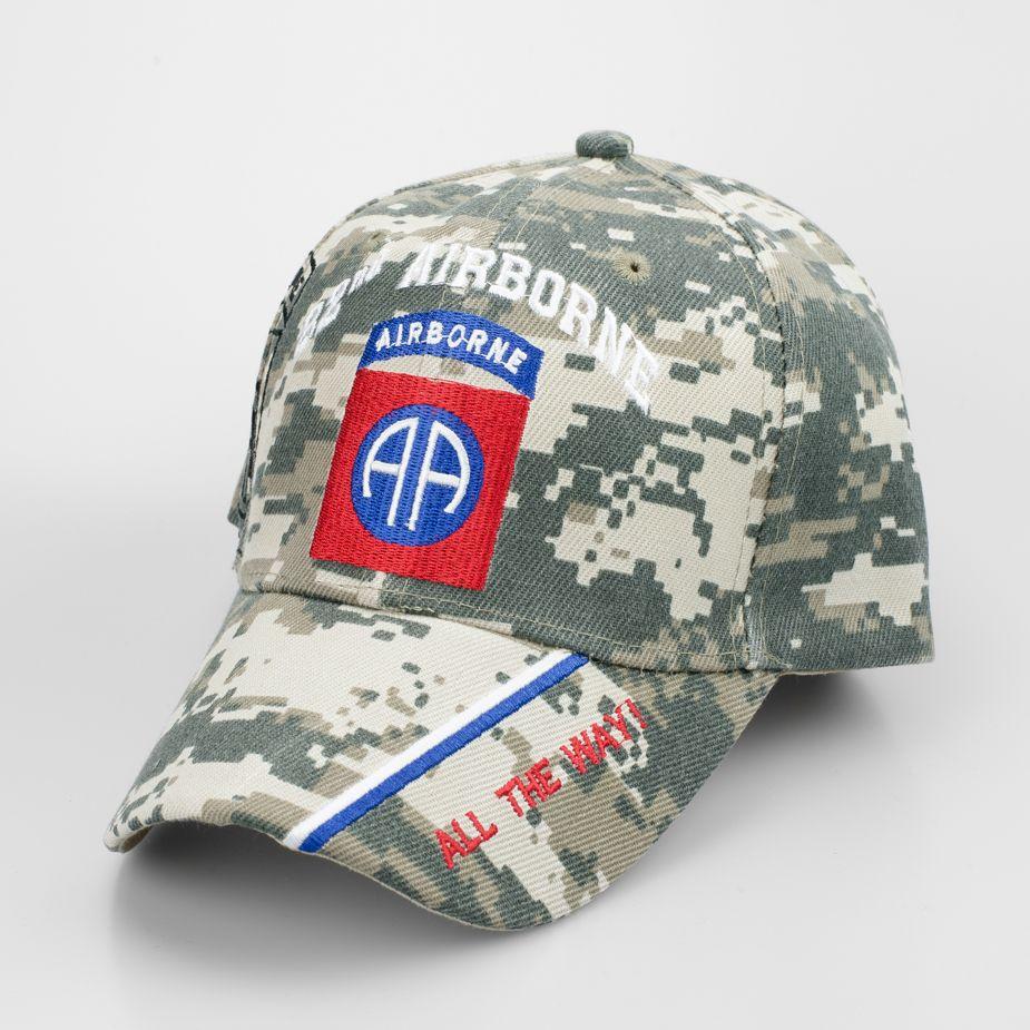 82nd Airborne Division Digital Camo Cap | Airborne | 82nd