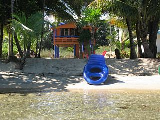 Jan S Beach Cabana Caribbean Beachfront Al Hopkins Belize Vacation In From Homeaway Travel