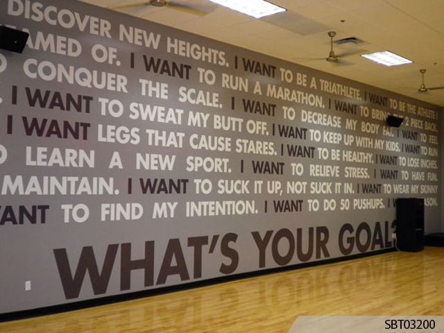 Next Image Hixson Gym Pinterest Gym Spa Shower And Gym - Custom vinyl lettering for walls