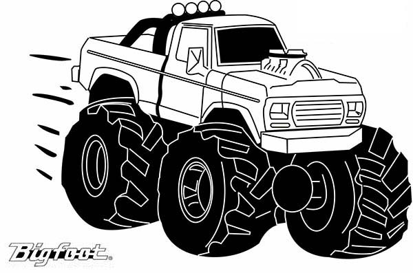 Mohawk Warrior Monster Truck Coloring Page Kids Play Color In 2020 Monster Truck Coloring Pages Truck Coloring Pages Monster Trucks