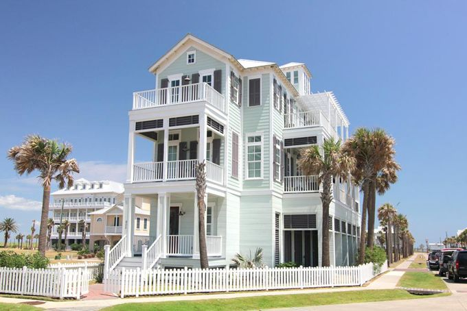 Galveston, Texas beautiful beach house