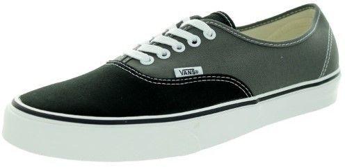 Vans Unisex Authentic (Vintage 2-Tone) Blk/Chrcl (Black/Chrcl) Skate Shoe 9  Men US / 10.5 Women US, Size: 10.5 B(M) US Women / 9 D(M) US Men