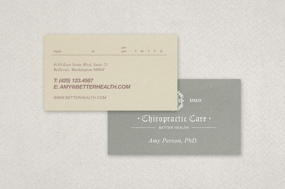 Chiropractic Practice Business Card Template Inkd Business Card Template Business Card Template Design Business Cards Creative Templates