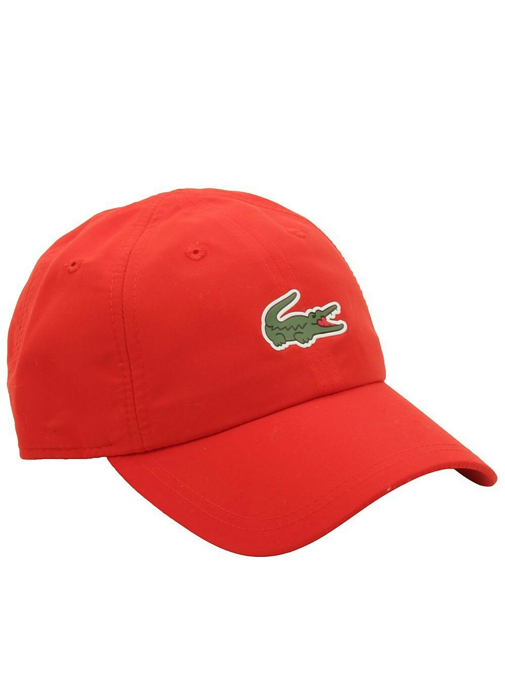 6548d49cad8 Lacoste Sport Polyester Cap with Green Croc in Matador RedPrice   44.95