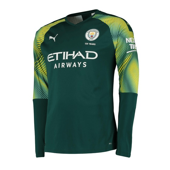 Manchester City FC Official Football Gift Boys Long Sleeve Polo Shirt