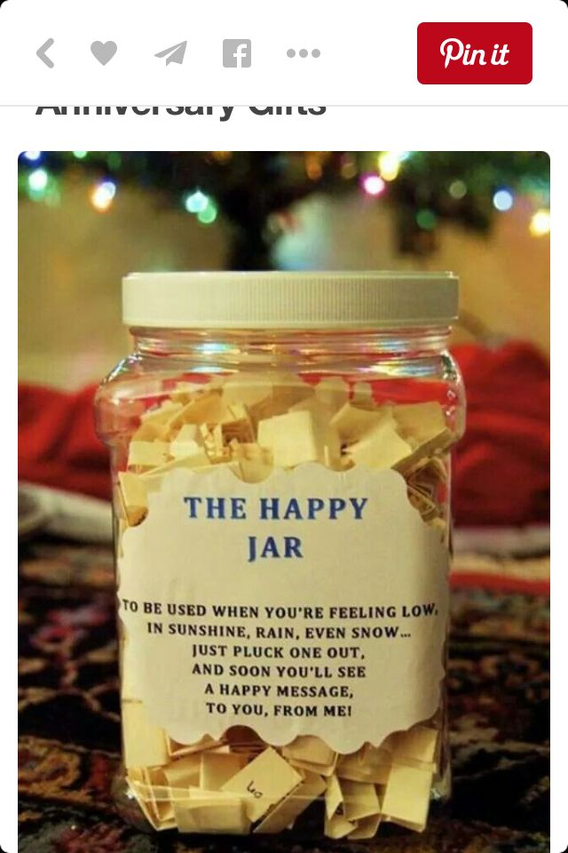 Happy Jar Easy Diy Christmas Gifts Diy Gifts For Your Best Friend Happy Jar