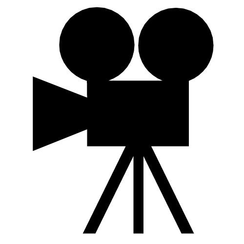 Movie Camera Clip Art | DIY | Pinterest | Clip art, Movies and Art