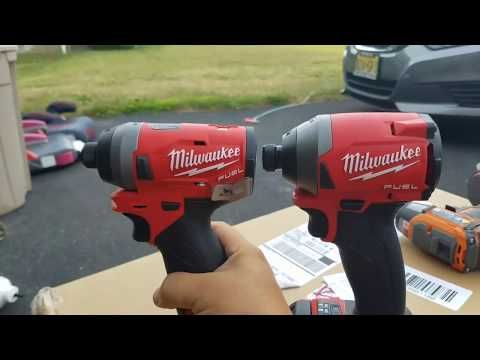 28 New Milwaukee M18 Fuel Gen 3 Impact Driver Removing Lug Nuts 2853 Size To 2 M12 You
