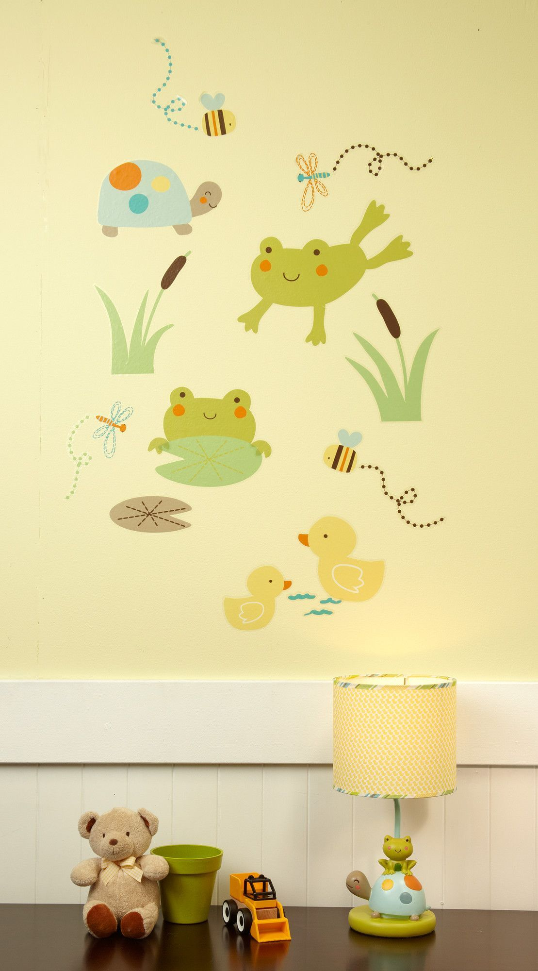 Pond Wall Decal | Pond, Wall decals and Baby things