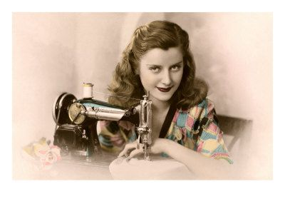 Image result for vintage sewing photos