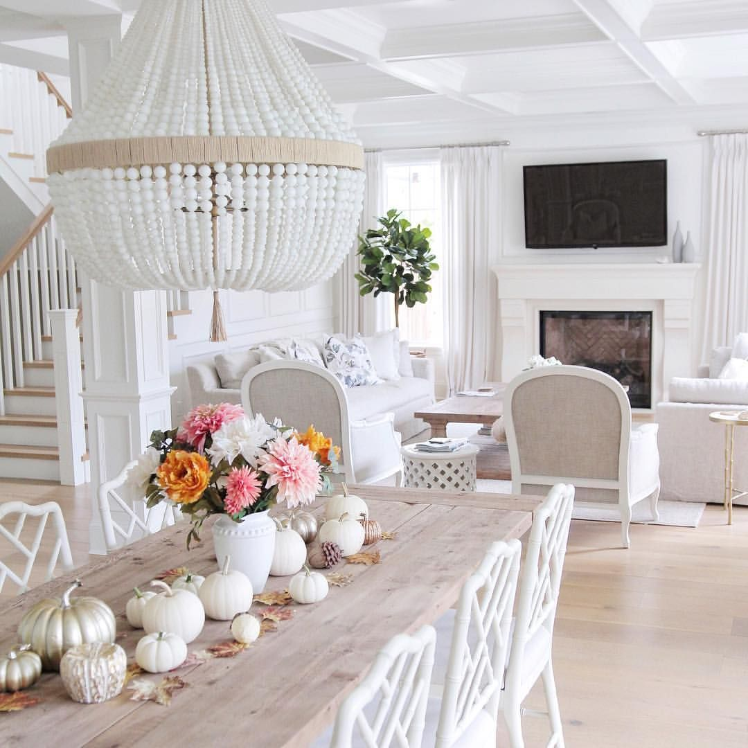 Living Room Ideas To Fall In Love With: Fall Decor. Hamptons Style. Coastal Style. Beaded