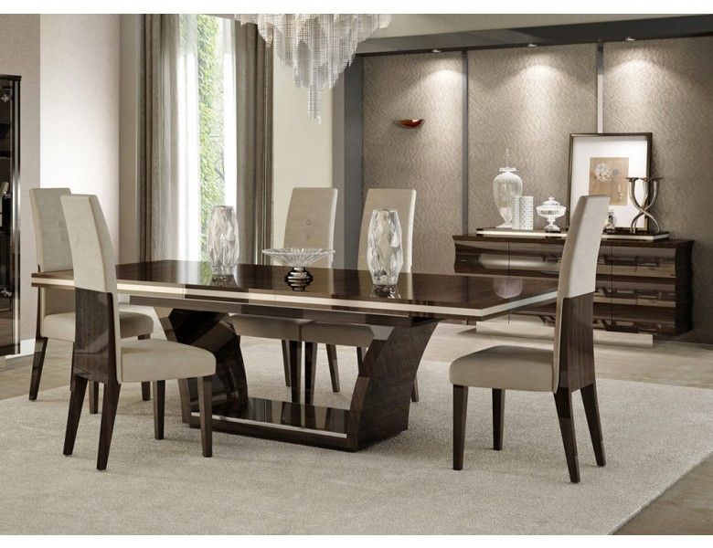 The Stylish Contemporary Dining Room Sets Giorgio Italian Modern Dining Table Set Dining Room Furniture Modern Modern Dining Room Tables Modern Dining Table