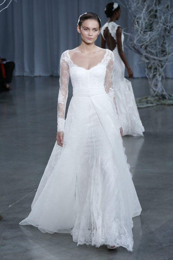 monique lhuillier | Pinterest | Monique lhuillier, Gowns and Wedding