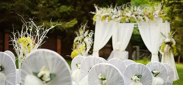 Gorgeous Garden Wedding   dotandbo.com