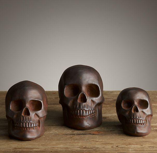 Human Skull Replica Restoration Hardware | Awesome | Pinterest ...