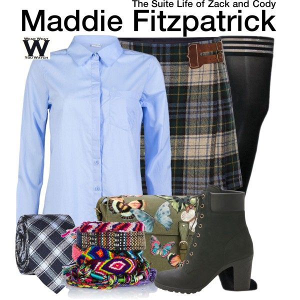 Inspired by Ashley Tisdale as Maddie Fitzpatrick on The Suite Life of Zack  & Cody.