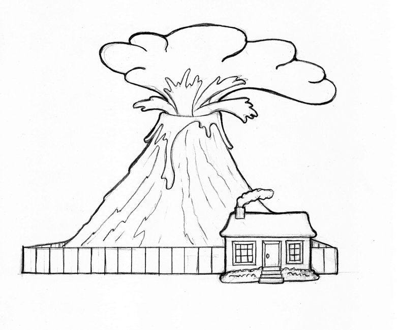 Volcano Coloring Pages For Kids Pokemon Coloring Pages Coloring Pages Printable Coloring Pages