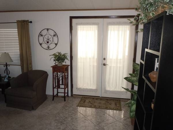 Mobile Home Remodeling Ideas Install French Doors Remodeling Mobile Homes Mobile Home Doors Manufactured Home Remodel