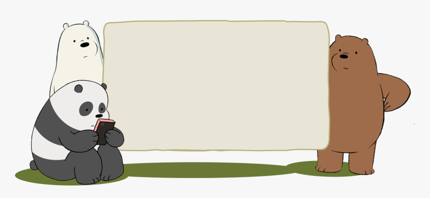 Transparent We Bare Bears Png We Bare Bears Birthday Background Png Download Is Free Transparent Png Image We Bare Bears Wallpapers Bear Birthday Bare Bears