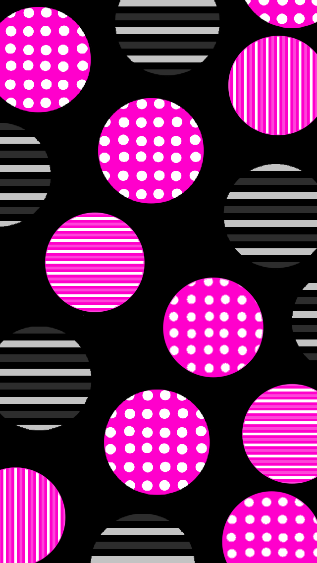 Luvnote2 Various Wallpapers Cute Wallpaper For Phone Dots Wallpaper Polka Dots Wallpaper
