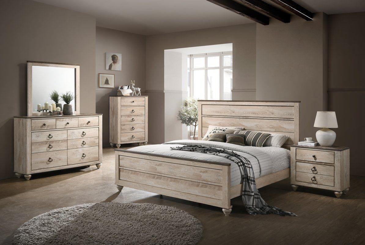 Manzano Panel 4 Piece Bedroom Set  King bedroom sets, Bedroom