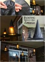 Floating Witch Hat Luminaries