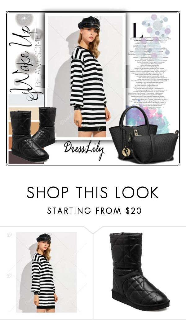 """""""Dresslily 1"""" by saaraa-21 ❤ liked on Polyvore featuring Komar, WALL and dresslily"""