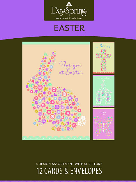 Easter Flowers Boxed Easter Cards 12 Cards Northwestern – Boxed Easter Cards