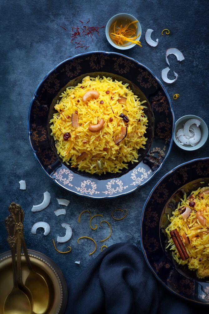 Zarda | Recipe | Indian food recipes, Meethe chawal recipe ...
