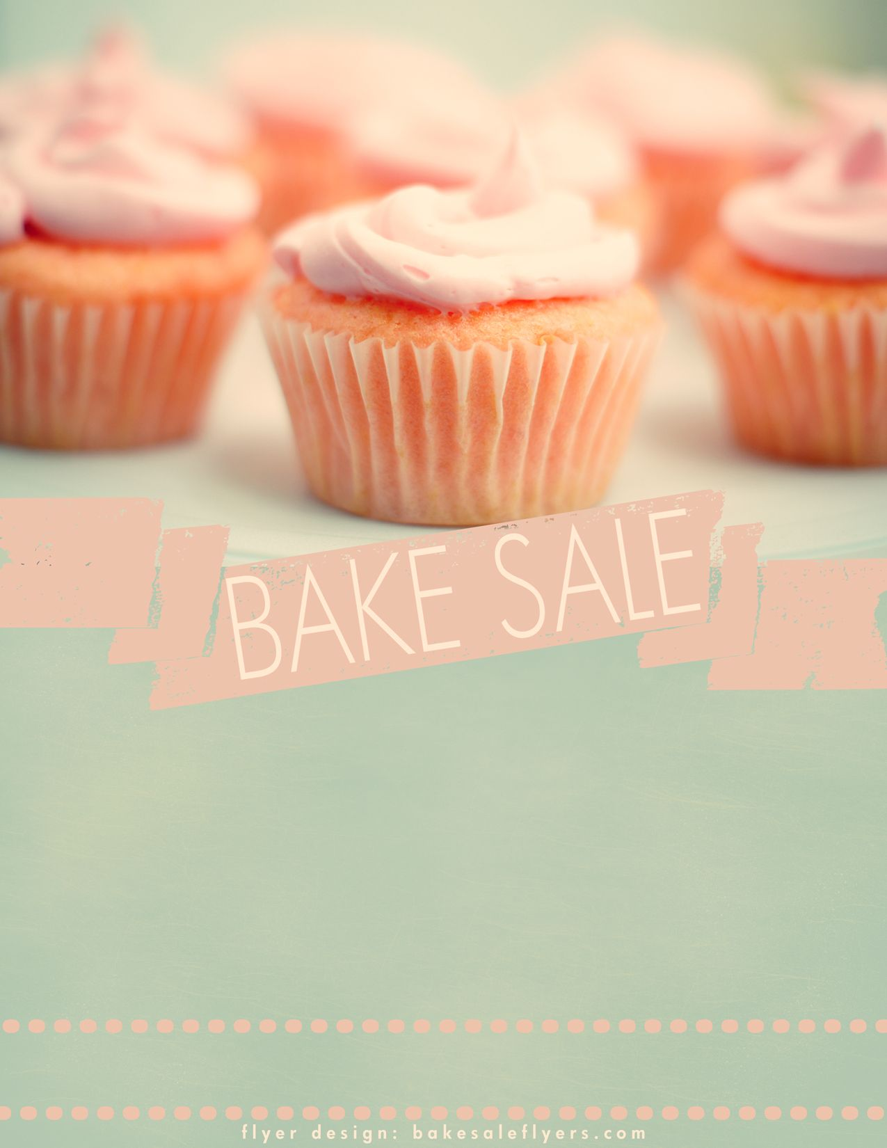 Cupcake Flyer  Graphic Design Inspiration    Free