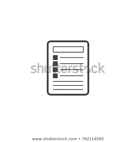 Notepad icon vector, book for business