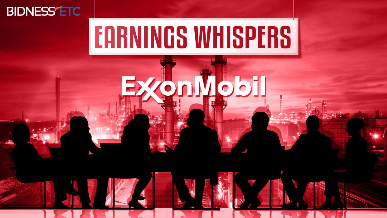Earnings Whispers: Exxon Mobil Corporation (XOM) To Release