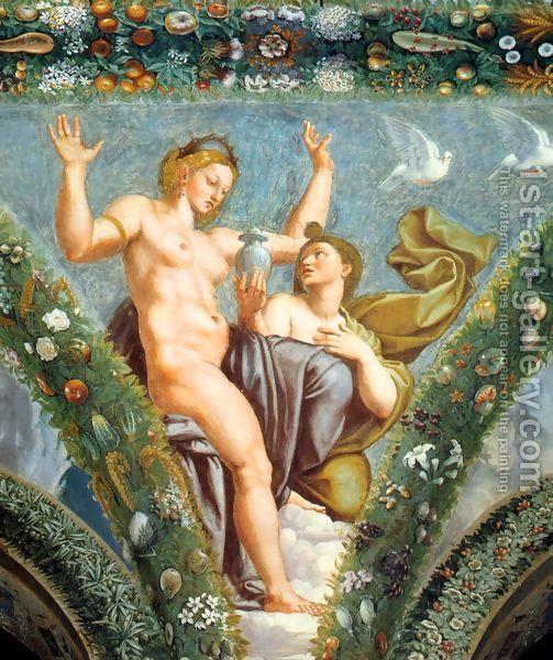 Venus And Psyche By Raphael Renaissance Italienne Raffaello
