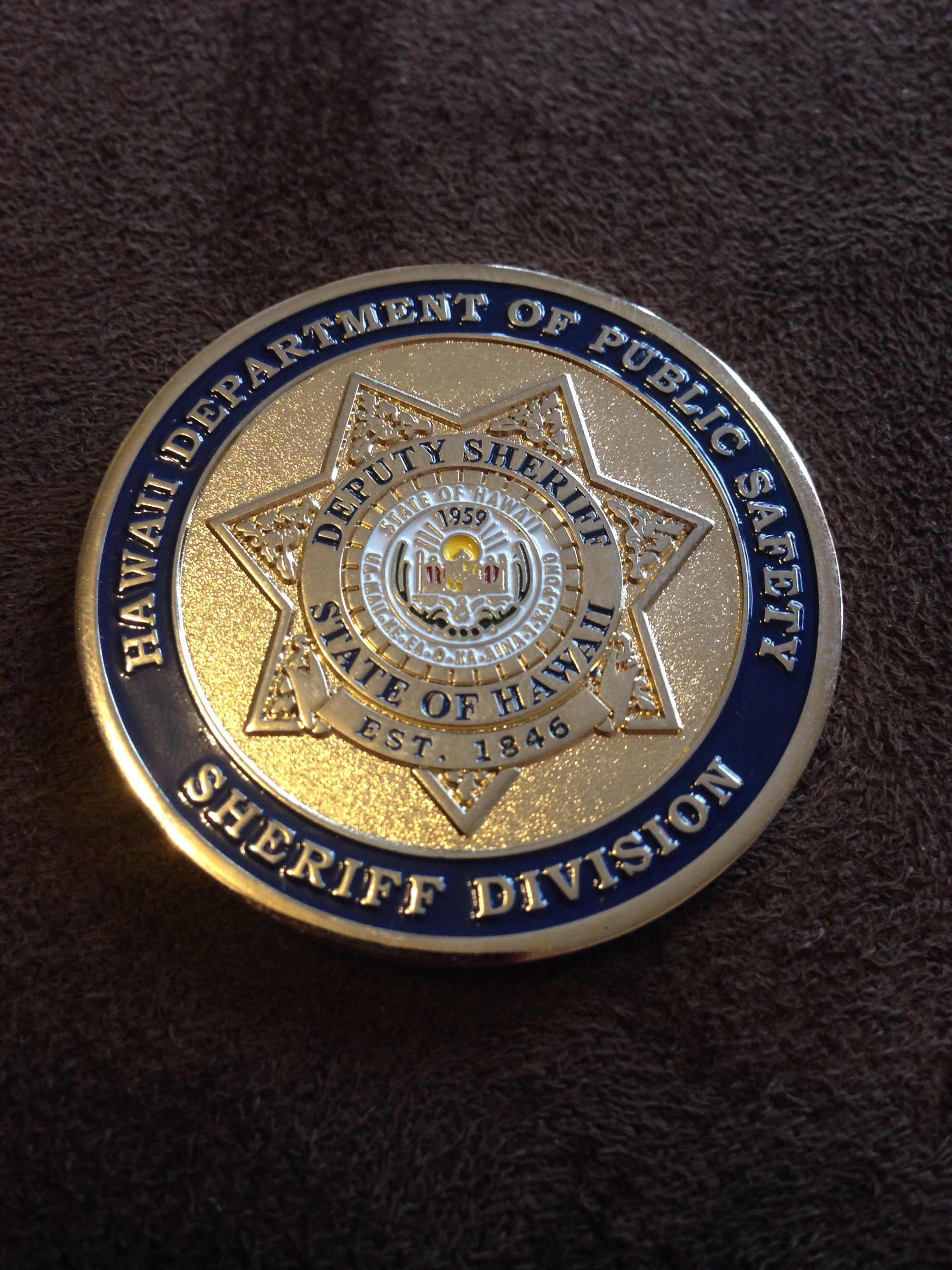 Hawaii Department of Public Safety Sheriff's Division