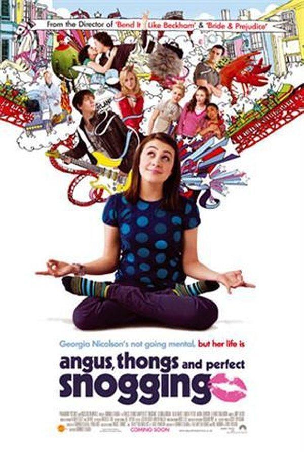 Le Journal Intime De Georgia Nicolson (film) : journal, intime, georgia, nicolson, (film), Angus,, Thongs, Perfect, Snogging, (2008), Angus, Snogging,, Georgia, Groome,, Teens, Movies