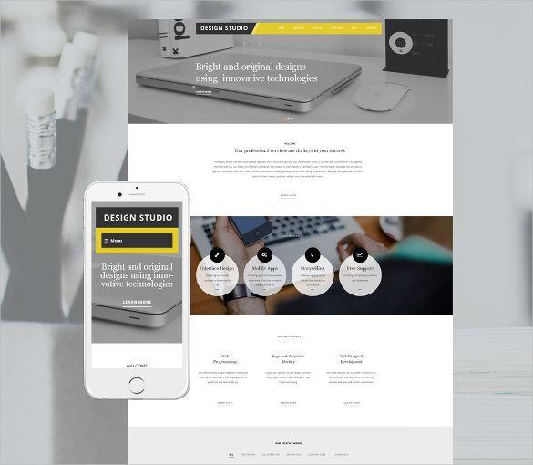 17+ Portfolio Bootstrap Themes & Templates | Free & Premium ...