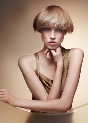 Spring/summer GRACE look, earthly beauty.  *Wella TrendVision 2012*