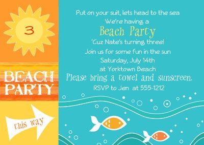 Lots Of Fun Ideas For Beach Themed Party Decorations Food And Games