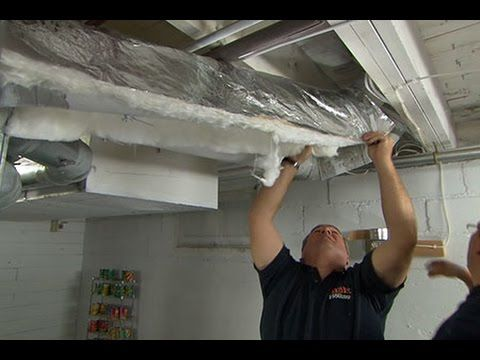 How To Insulate Ductwork Duct Work Duct Insulation Old Houses